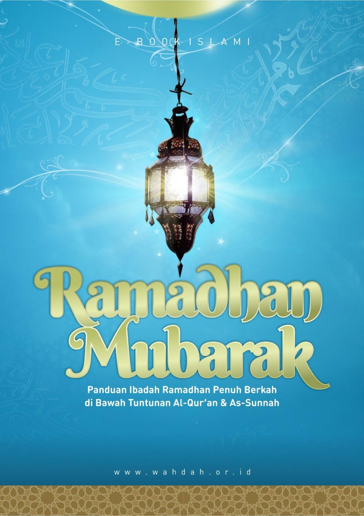 Arti Ramadhan Mubarak : ramadhan, mubarak, Ramadhan-Mubarak, [Wahdah, Islam]