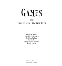 Games for English and Language Arts-Flip eBook Pages 1 - 50  AnyFlip    AnyFlip [ 1800 x 1391 Pixel ]