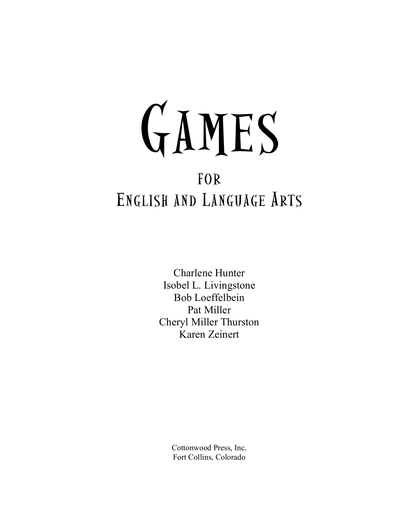 hight resolution of Games for English and Language Arts-Flip eBook Pages 1 - 50  AnyFlip    AnyFlip