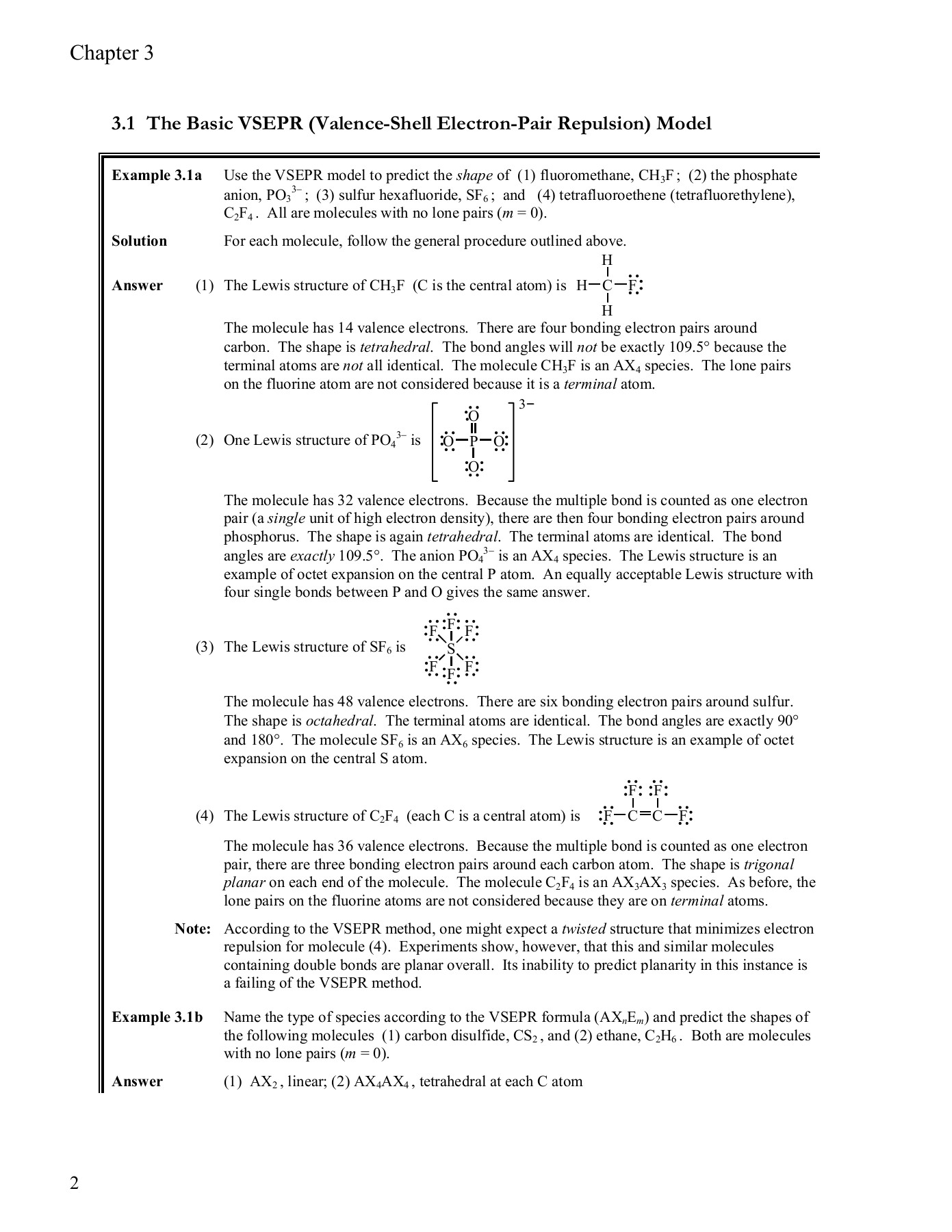hight resolution of chapter 3 molecular shape and structure pages 1 11 text version anyflip