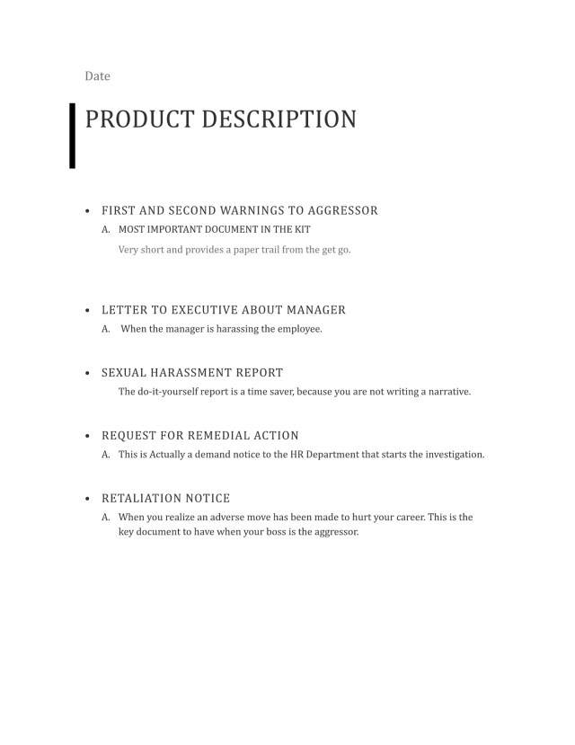 Ual Harassment Toolkit Pages 1 12
