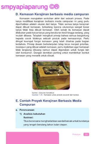 Kerajinan Berbasis Media Campuran : kerajinan, berbasis, media, campuran, PRAKARYA, 9-SMT2