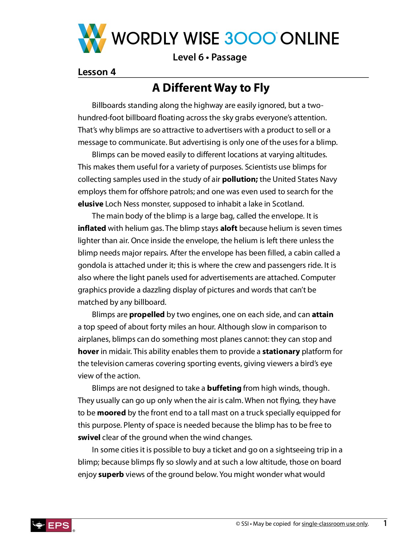 Bestseller Wordly Wise Book 10 Lesson 6 Answers