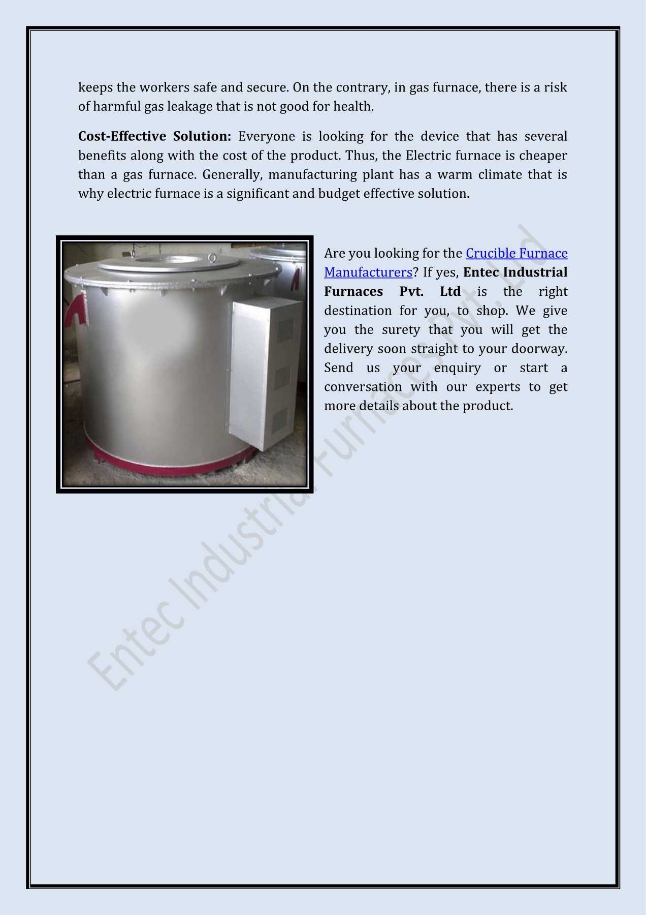 hight resolution of why is electric furnace more preferred over gas furnace pages 1 2 text version anyflip