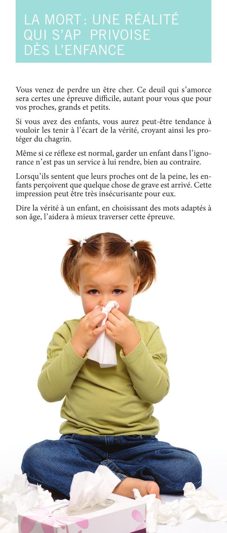 La Mort Expliquée Aux Enfants : expliquée, enfants, Expliquer, Enfants