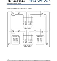 ac series tru wave tm phase converter pages 1 3 text version series and parallel wiring tm 3 [ 1391 x 1800 Pixel ]