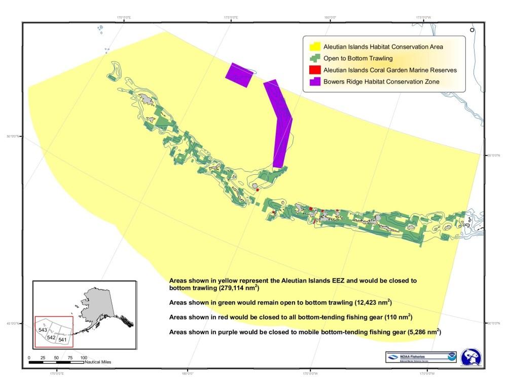 medium resolution of aleutian islands habitat conservation area open to bottom