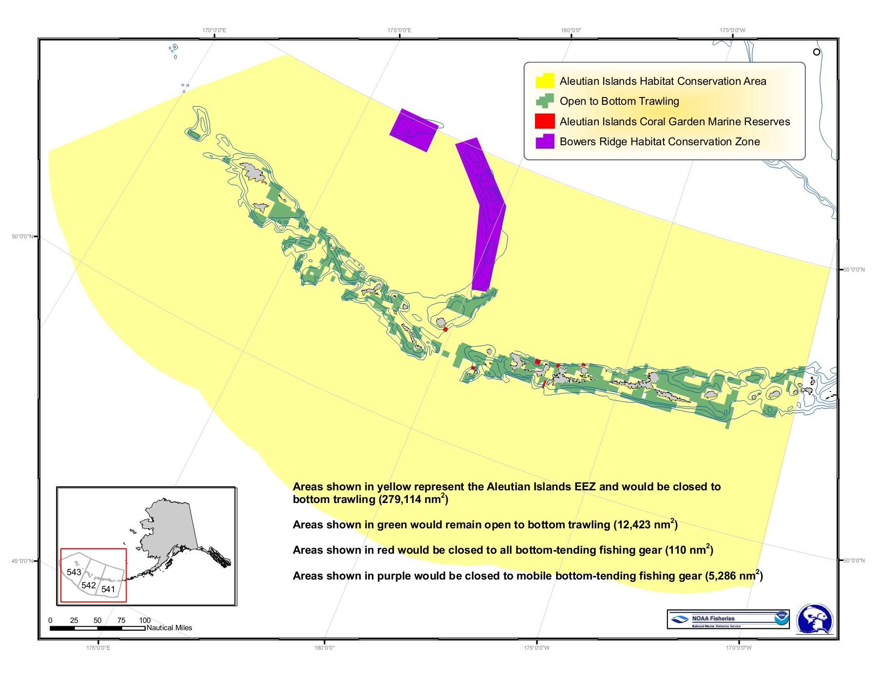 hight resolution of aleutian islands habitat conservation area open to bottom