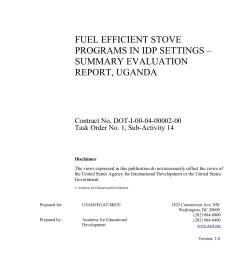 fuel efficient stove programs in idp settings summary pages 1 39 text version fliphtml5 [ 1391 x 1800 Pixel ]