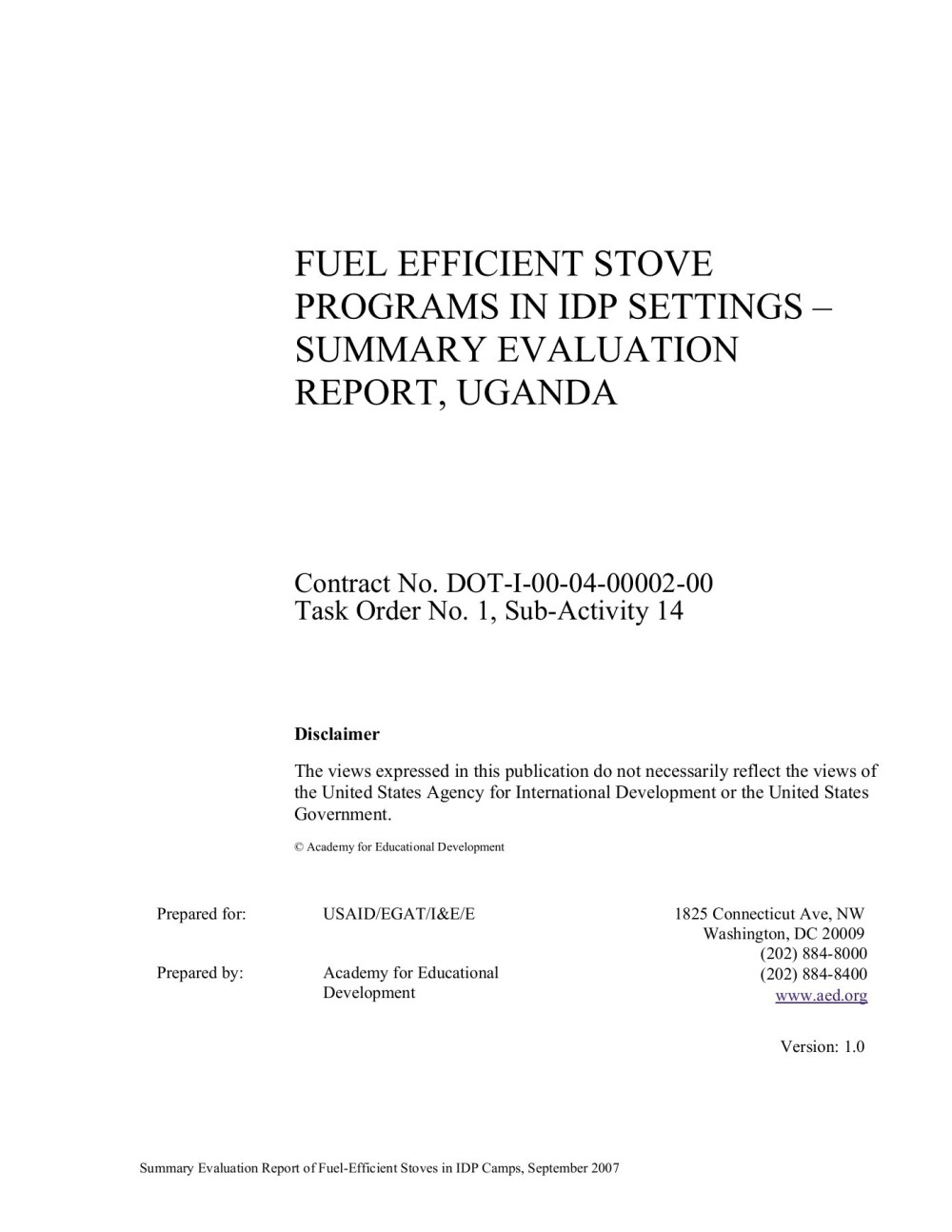 medium resolution of fuel efficient stove programs in idp settings summary pages 1 39 text version fliphtml5