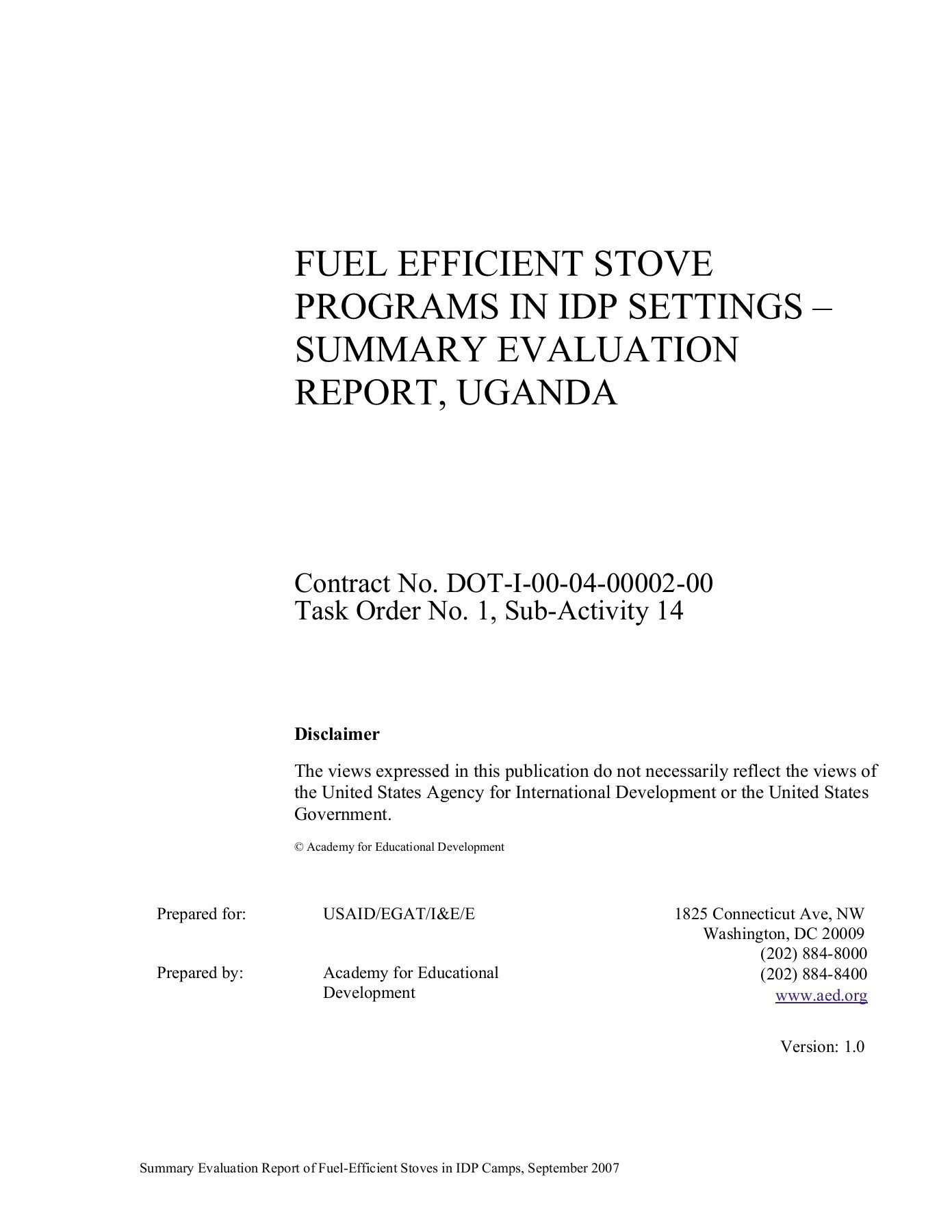 hight resolution of fuel efficient stove programs in idp settings summary pages 1 39 text version fliphtml5