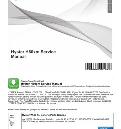 hyster h60xm service manual productmanualguide pages 1 4 text on hyster ignition system  [ 1273 x 1800 Pixel ]