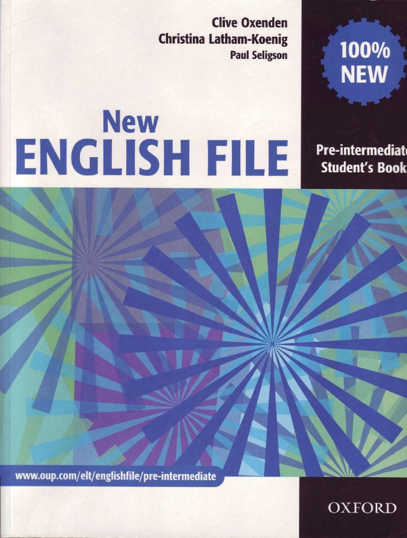 Www.oup.com/elt/englishfile : www.oup.com/elt/englishfile, English, Pre-Intermediate, Student's