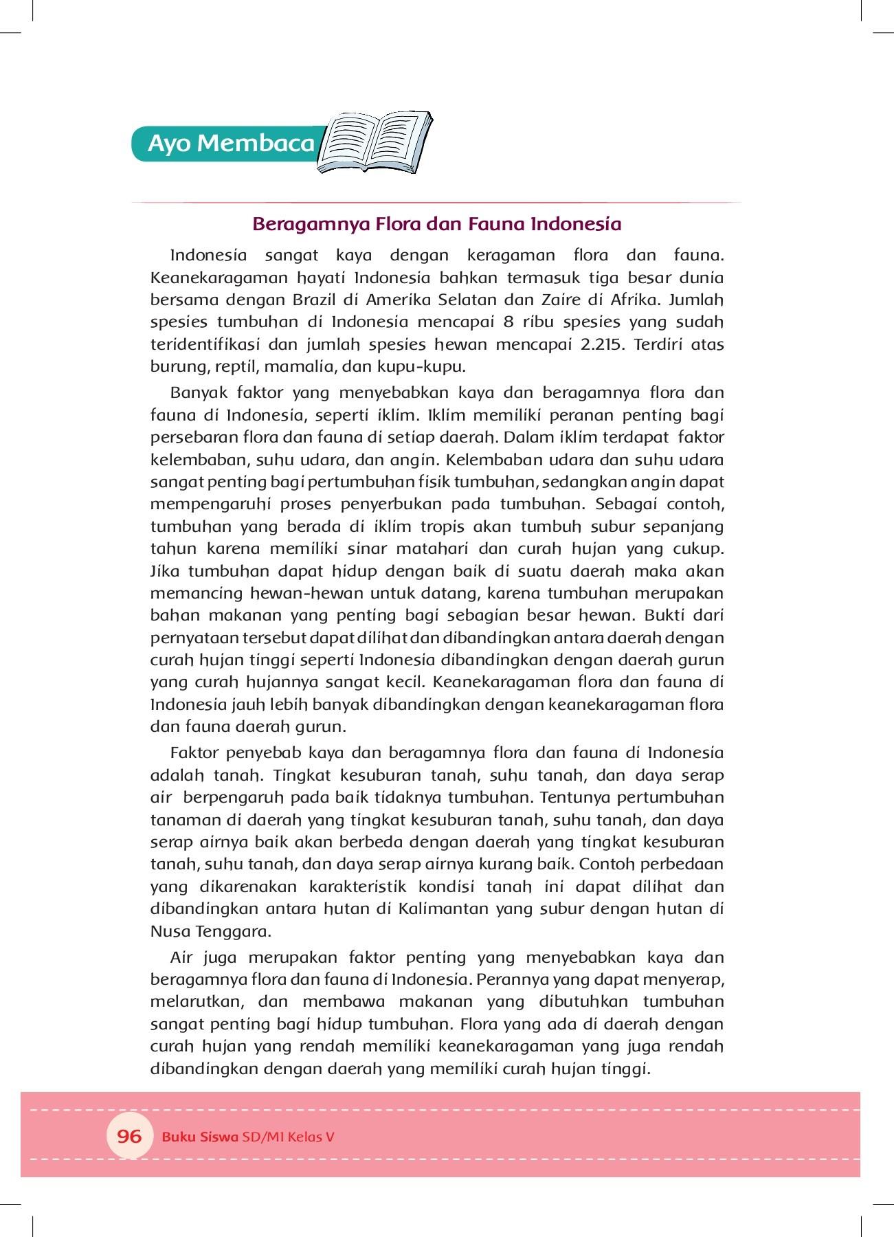 Penyebab Beragamnya Flora Dan Fauna Di Indonesia Adalah : penyebab, beragamnya, flora, fauna, indonesia, adalah, Kelas, Pages, Download, FlipHTML5