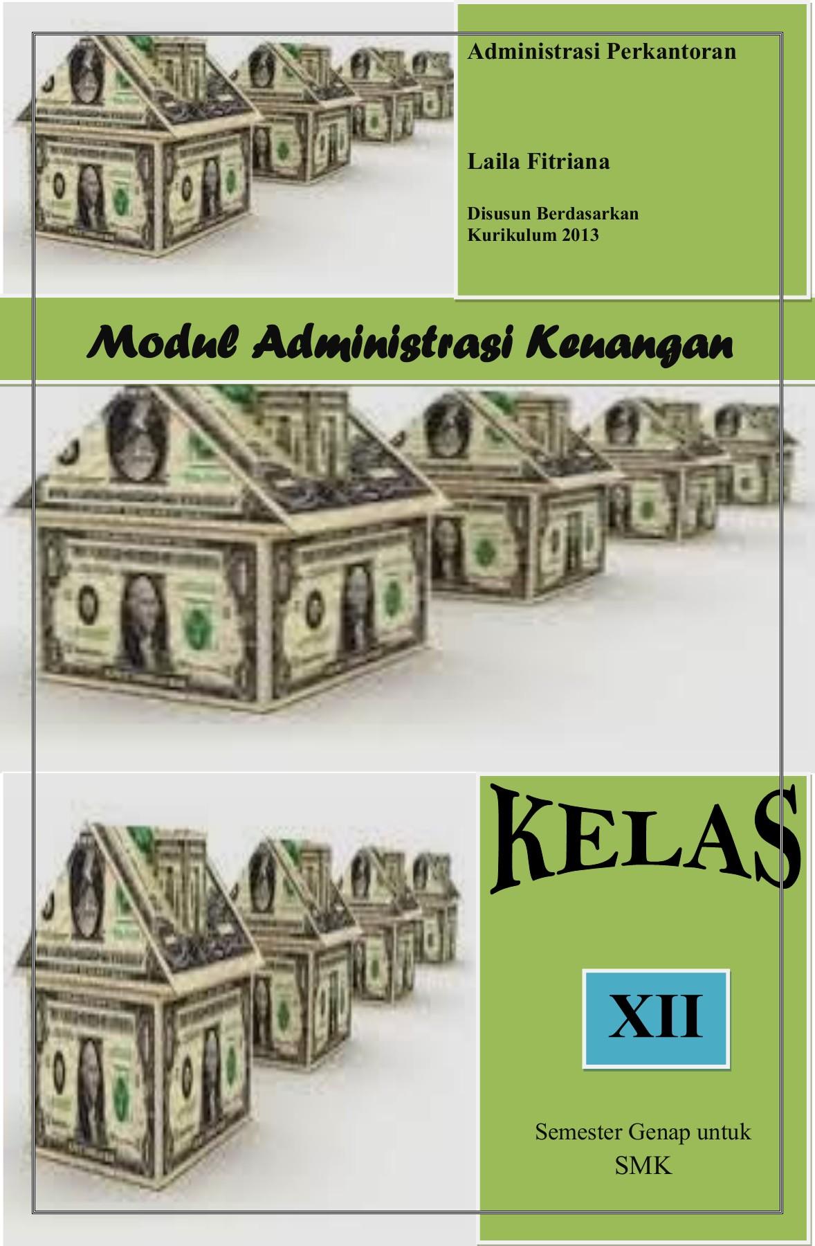 Modul Administrasi Umum : modul, administrasi, Modul-administrasi-perkantoran-laila-fitriana