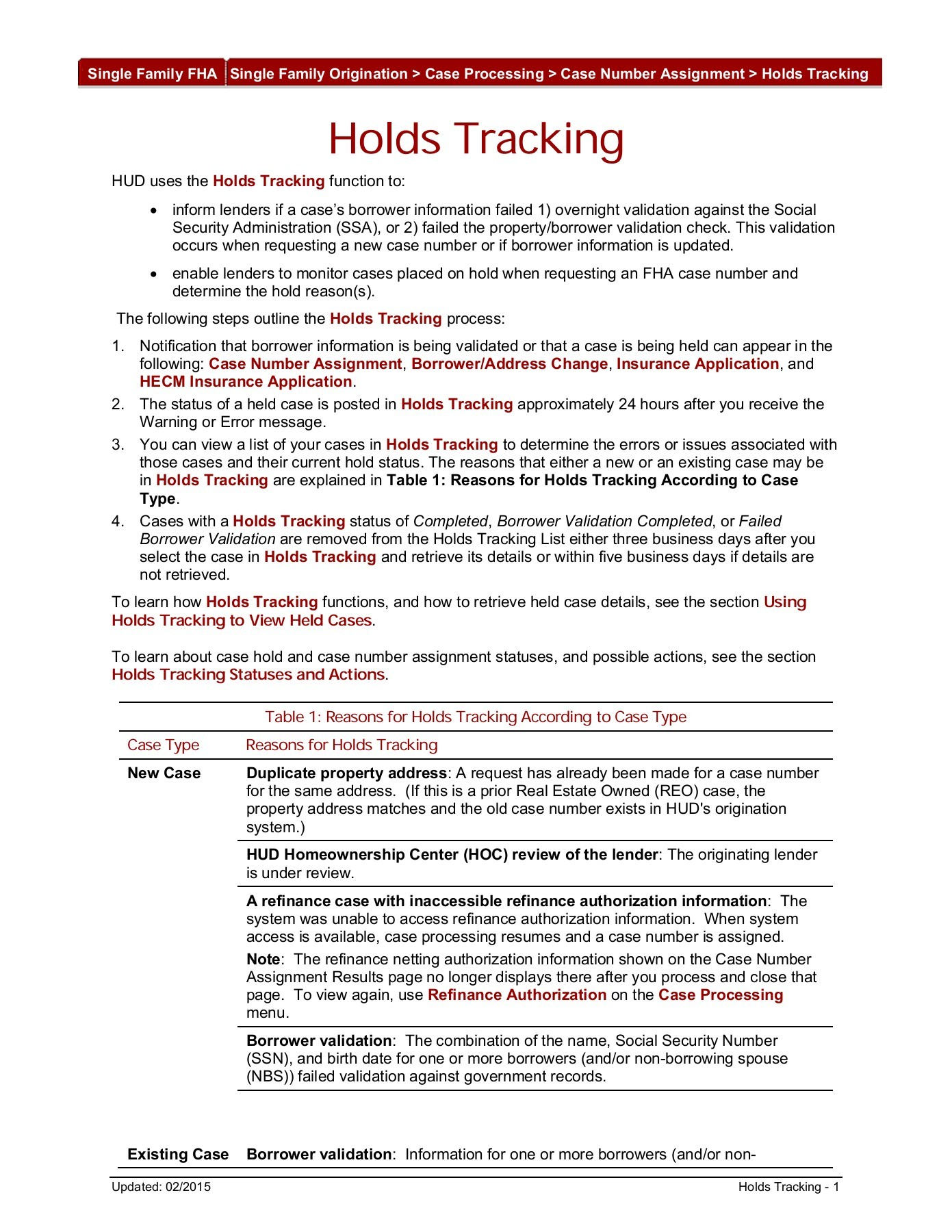 Fha Case Number Assignment American Essay Fha Case