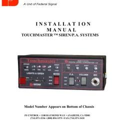 unitrol siren wiring diagram [ 1391 x 1800 Pixel ]