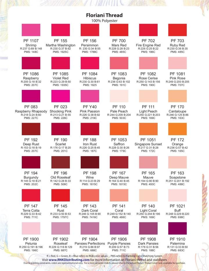 Pantone Thread Colors Irfandiawhite