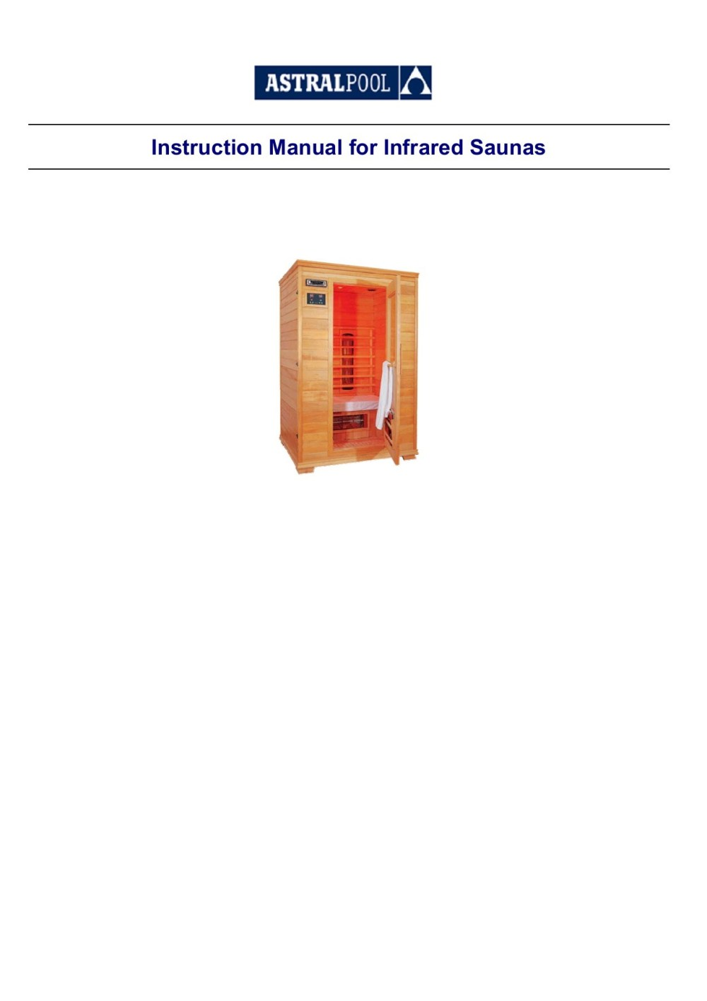 medium resolution of instruction manual for infrared saunas pages 1 49 text version fliphtml5