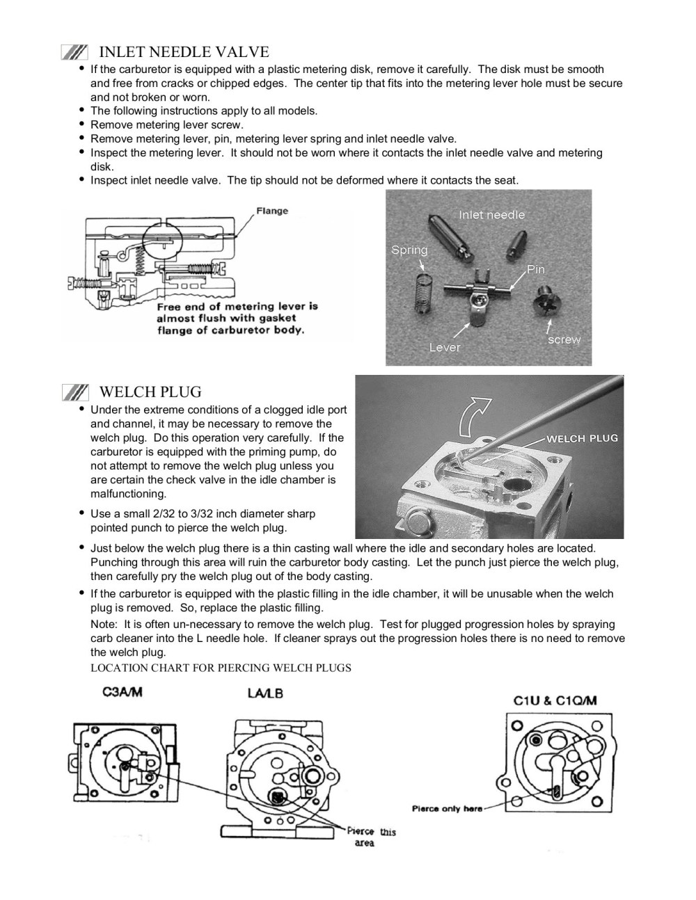 medium resolution of zama cube carburetor disassembly and service pages 1 5 text version fliphtml5