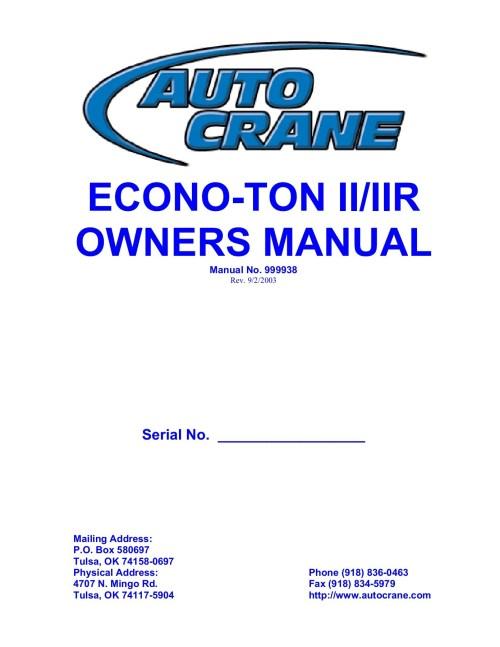 small resolution of auto crane econo ton 2 wiring schematic