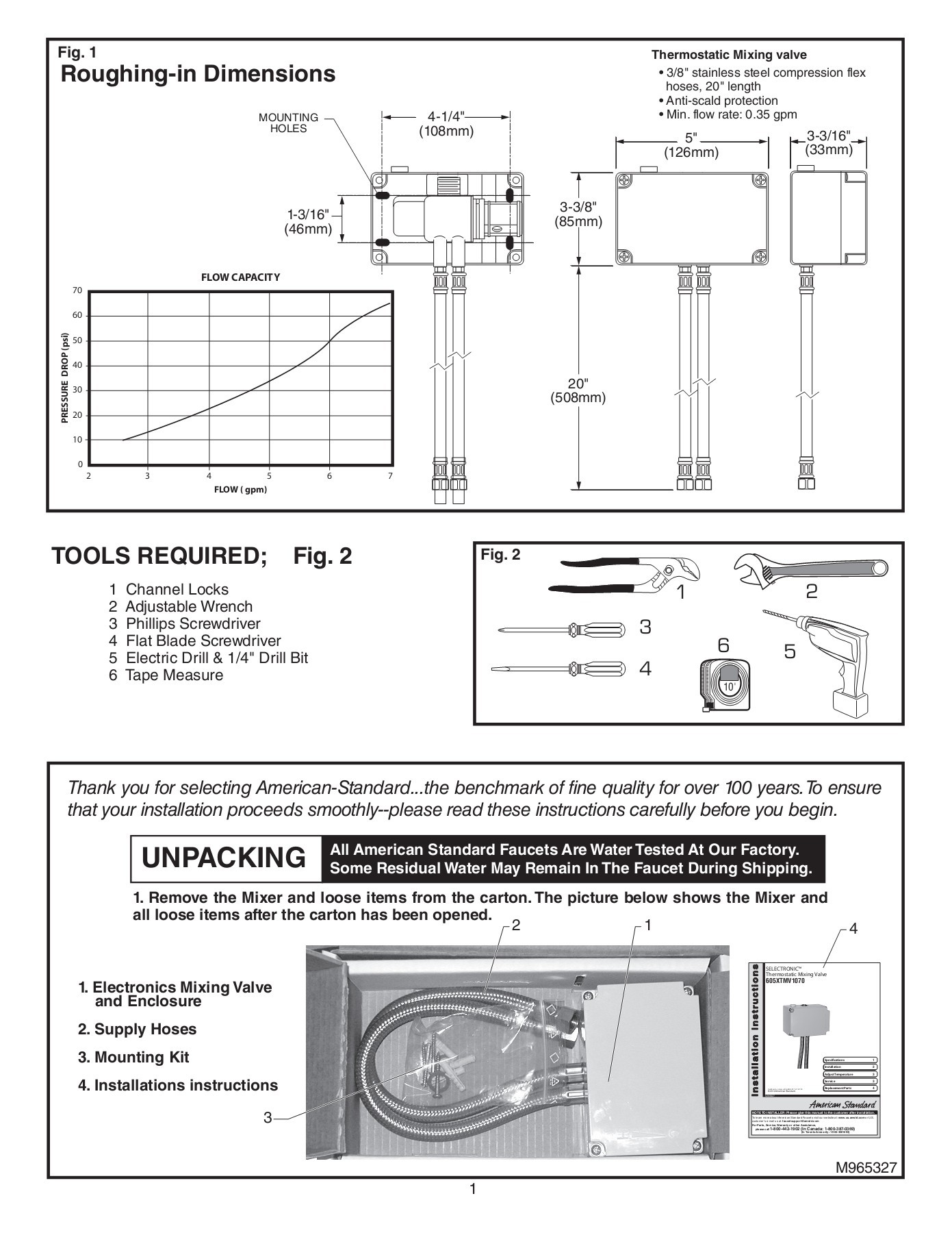 hight resolution of selectronic thermostatic mixing valve o 605xtmv1070 pages 1 5 text version fliphtml5