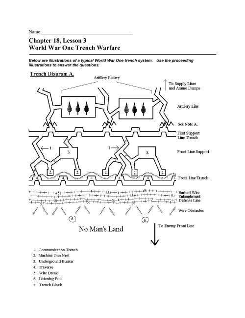 small resolution of name chapter 18 lesson 3 world war one trench  warfare fliphtml5 vietnam trench