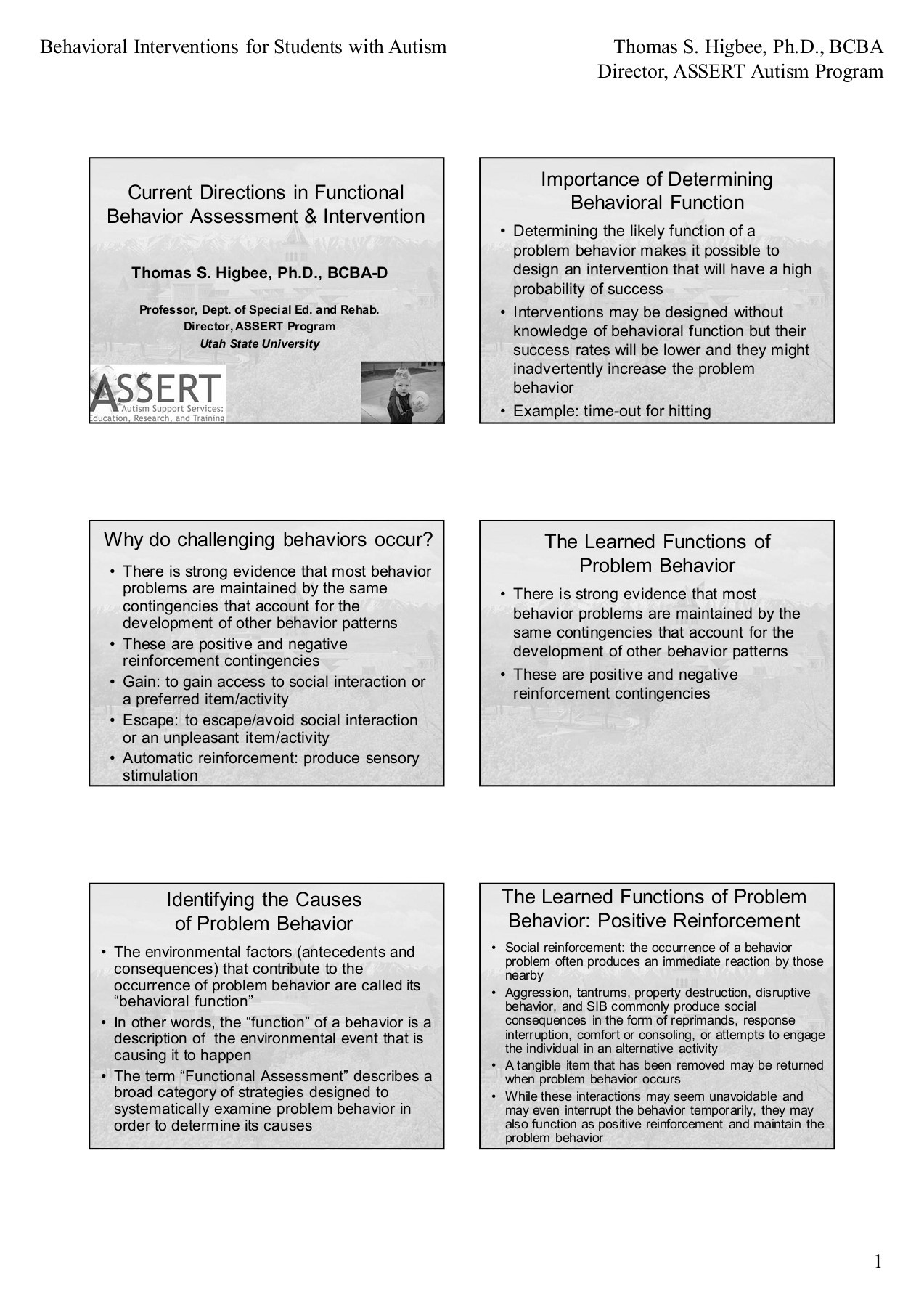 Behavioral Interventions For Students With Autism Thomas S   Pages 1 - 16  - Text Version | Fliphtml5