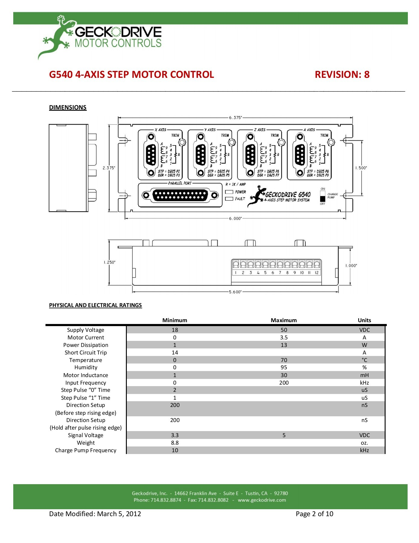 hight resolution of g540 user manual step motor controls pages 1 10 text version fliphtml5