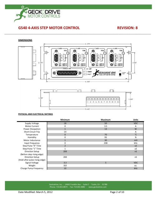 small resolution of g540 user manual step motor controls pages 1 10 text version fliphtml5