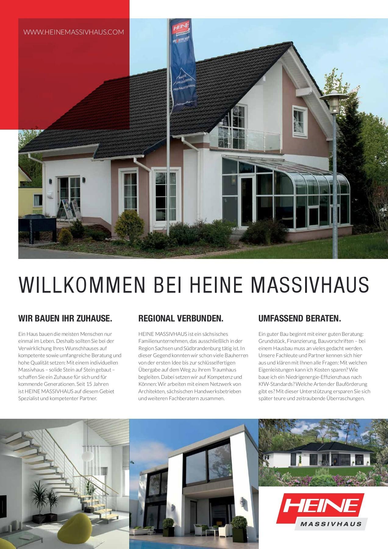 Heine Massivhaus Imagebroschüre | Fliphtml5