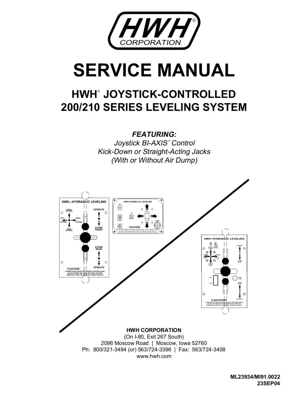 medium resolution of section 1 the trouble shooting guide hwh corporation