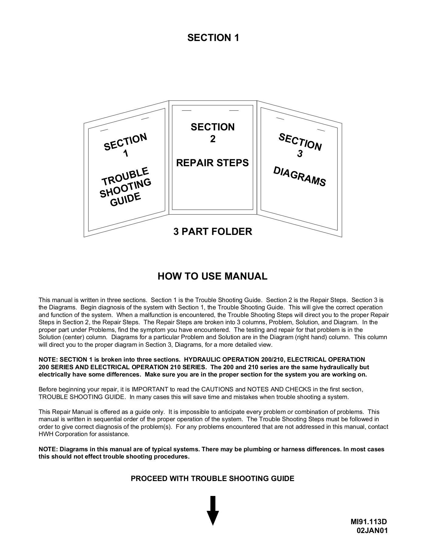 hight resolution of section 1 the trouble shooting guide hwh corporation pages 1 40 text version fliphtml5