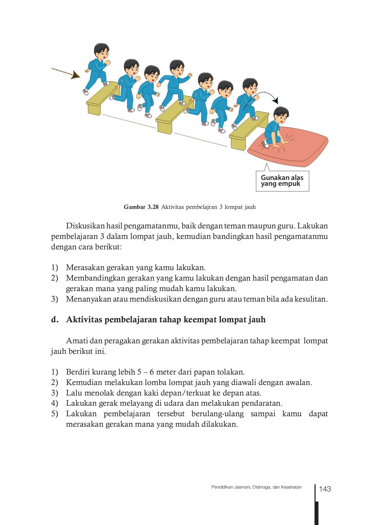 Tahapan Dalam Lompat Jauh : tahapan, dalam, lompat, Bagaimana, Melakukan, Awalan, Lompat