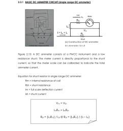 diagram of ammeter [ 1391 x 1800 Pixel ]