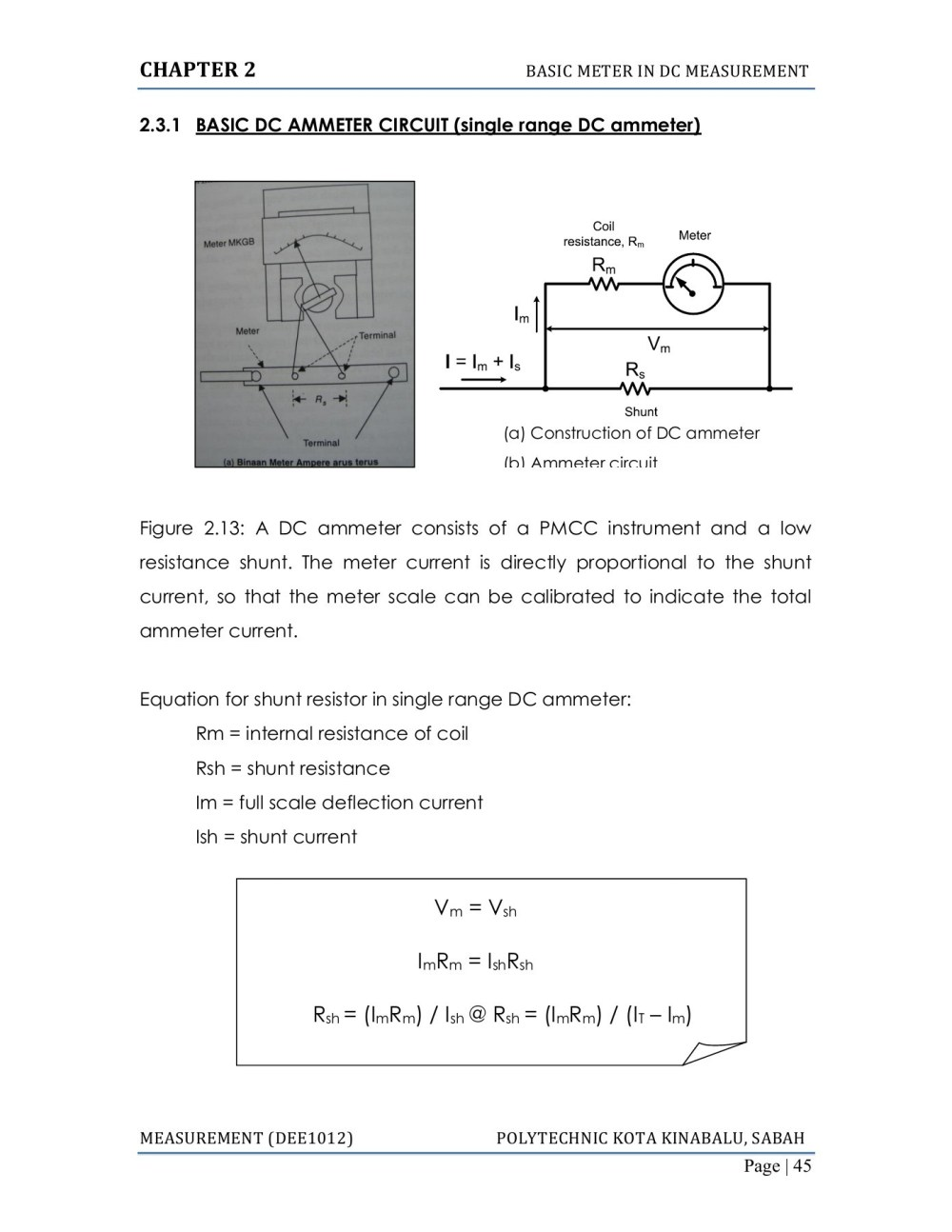 medium resolution of diagram of ammeter