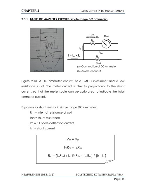 small resolution of diagram of ammeter