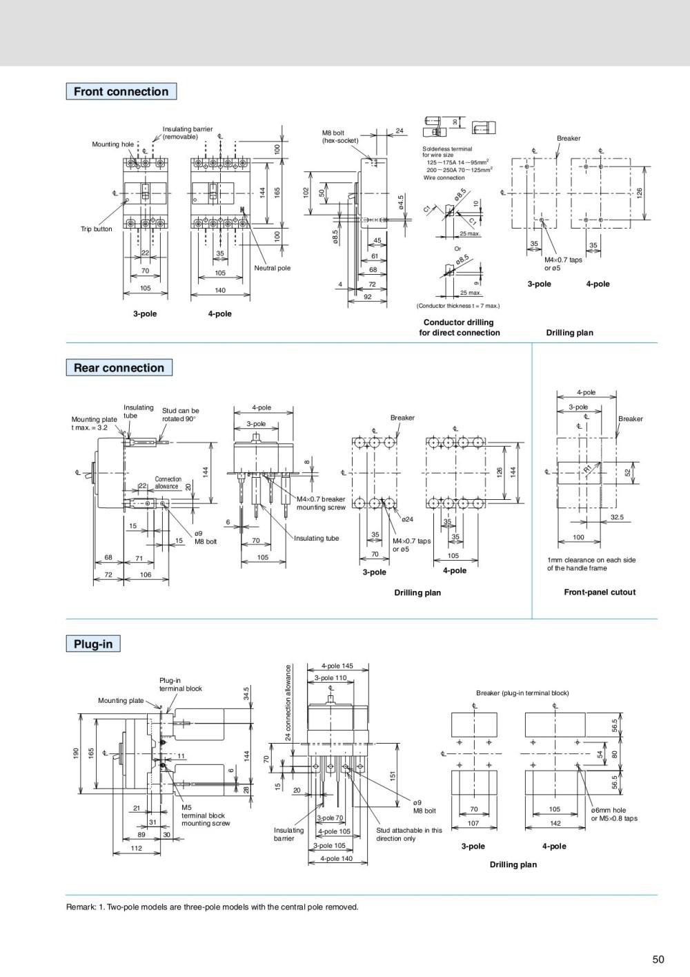 medium resolution of molded case circuit breakers earth leakage circuit breakers