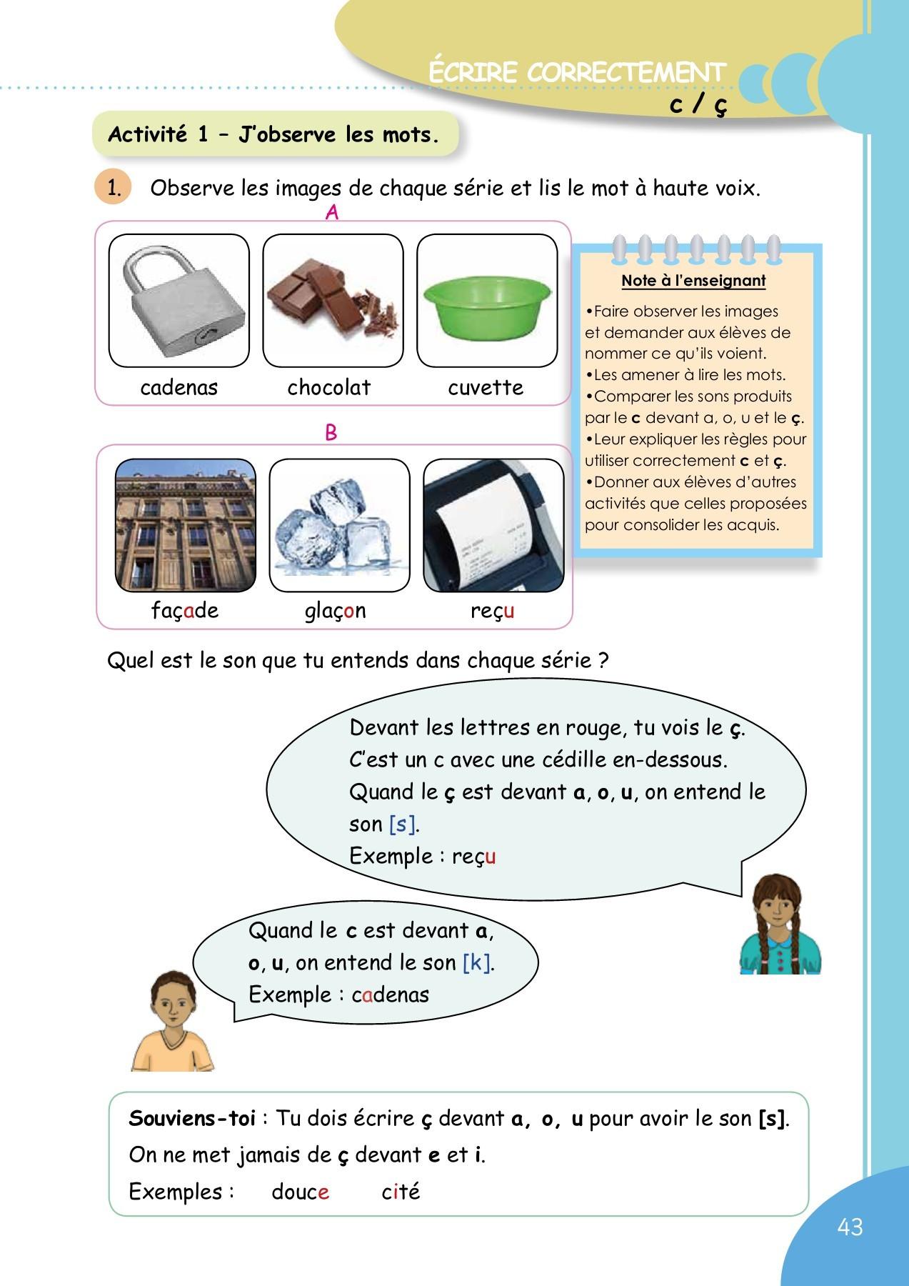 Mot Avec K Et O : French, Grade, Teacher's, Pages, Download, FlipHTML5