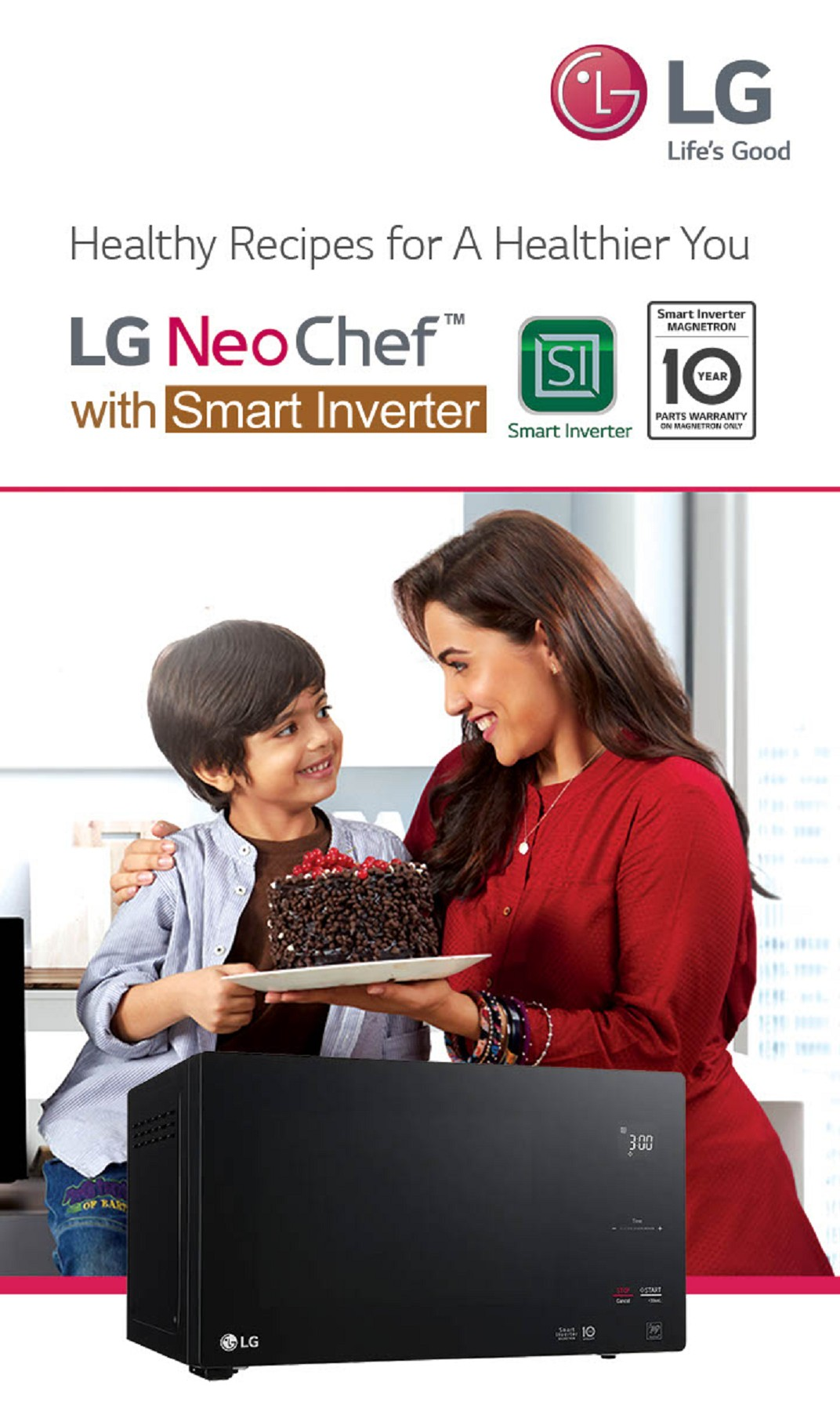 lg microwave oven catalogue pages 1