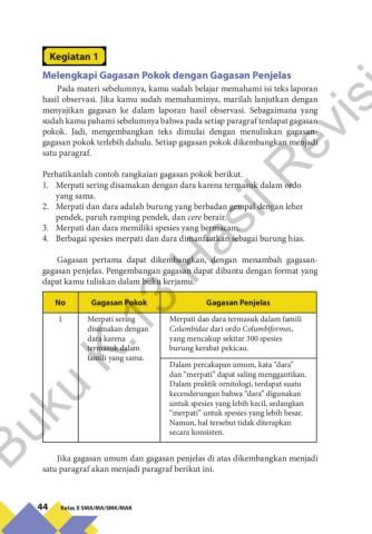 Contoh Gagasan Pokok : contoh, gagasan, pokok, Siswa, Kelas, Revisi, Pages, Download, FlipHTML5