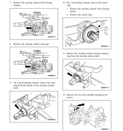 ford taurus steering column diagram [ 1391 x 1800 Pixel ]