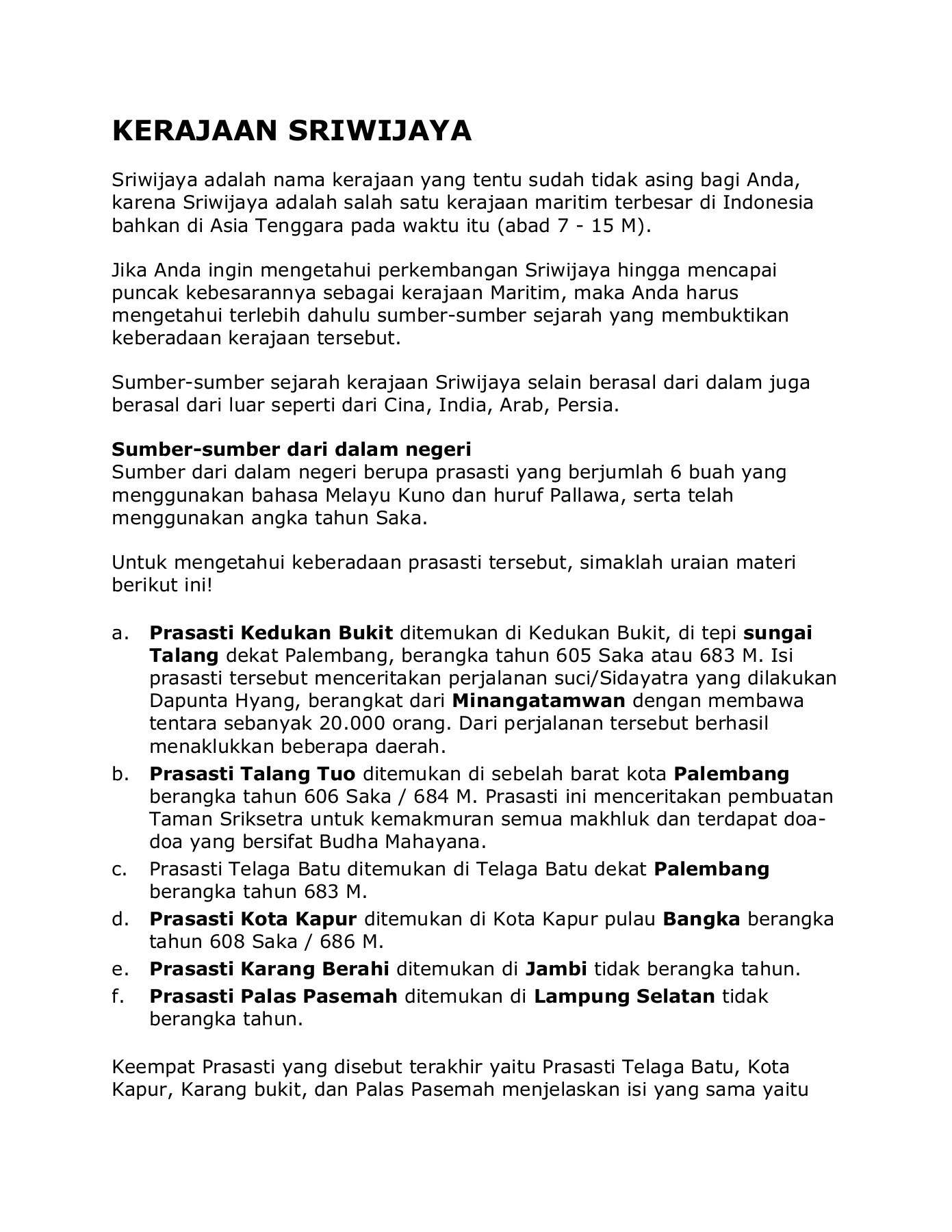 Kerajaan Sriwijaya Disebut Kerajaan Maritim : kerajaan, sriwijaya, disebut, maritim, Modul-kerajaan-sriwijaya