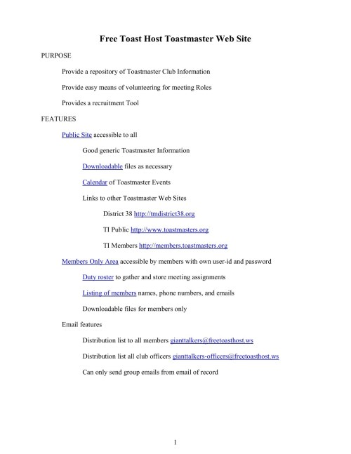 small resolution of free toast host toastmaster web site pages 1 23 text version fliphtml5