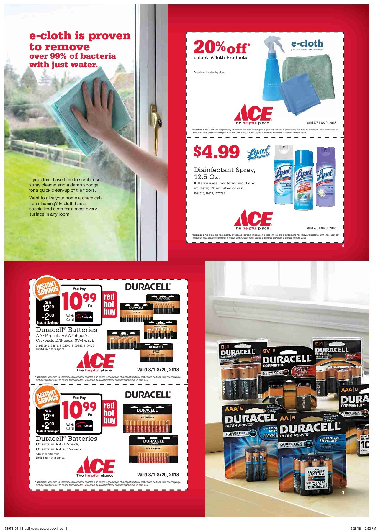 hight resolution of ace coupon