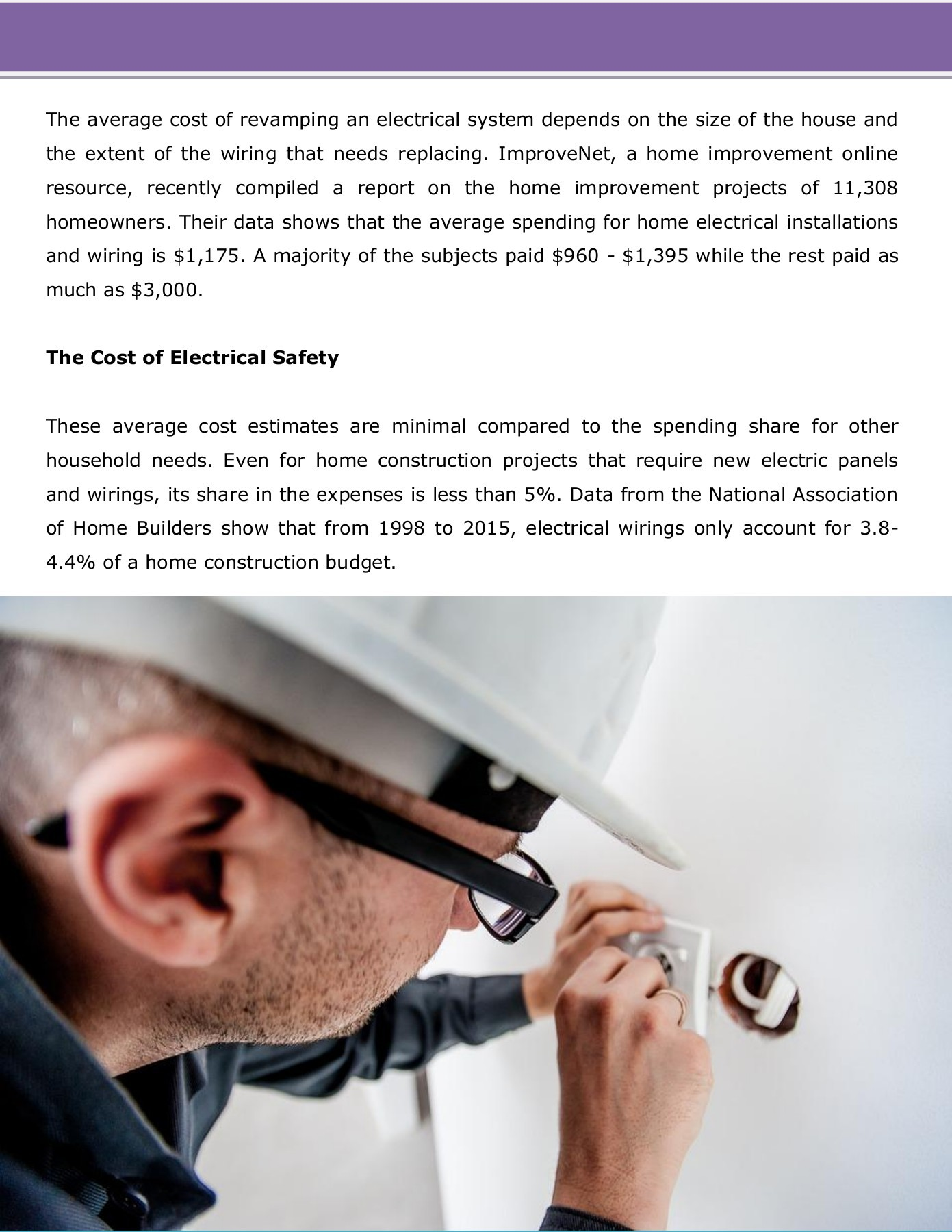 hight resolution of improvenet survey says cost for electrical panel wiring installation averages 1 000 pages 1 4 text version fliphtml5