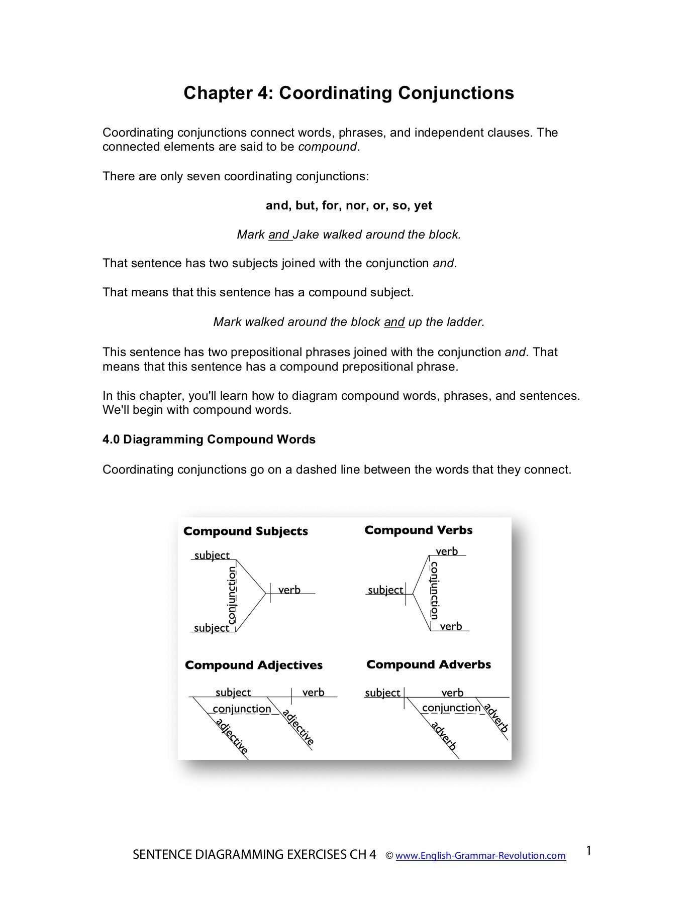 diagramming sentences with conjunctions les paul traditional 2010 chapter 4 coordinating pages 1 17 text version fliphtml5