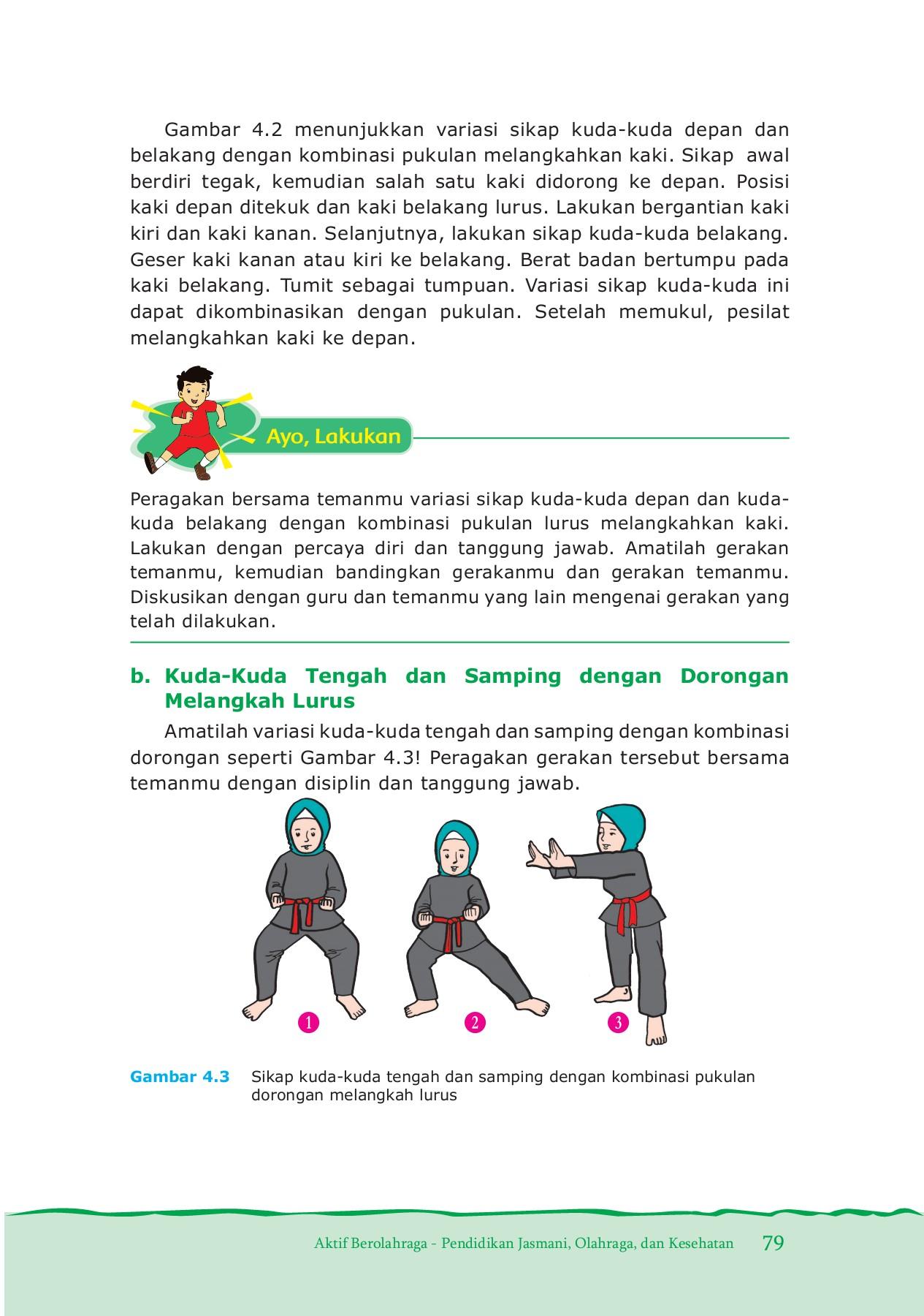 Gerakan Kuda-kuda Samping Dilakukan Dengan Melangkahkan Salah Satu Kaki Ke : gerakan, kuda-kuda, samping, dilakukan, dengan, melangkahkan, salah, Kelas, Pages, Download, FlipHTML5
