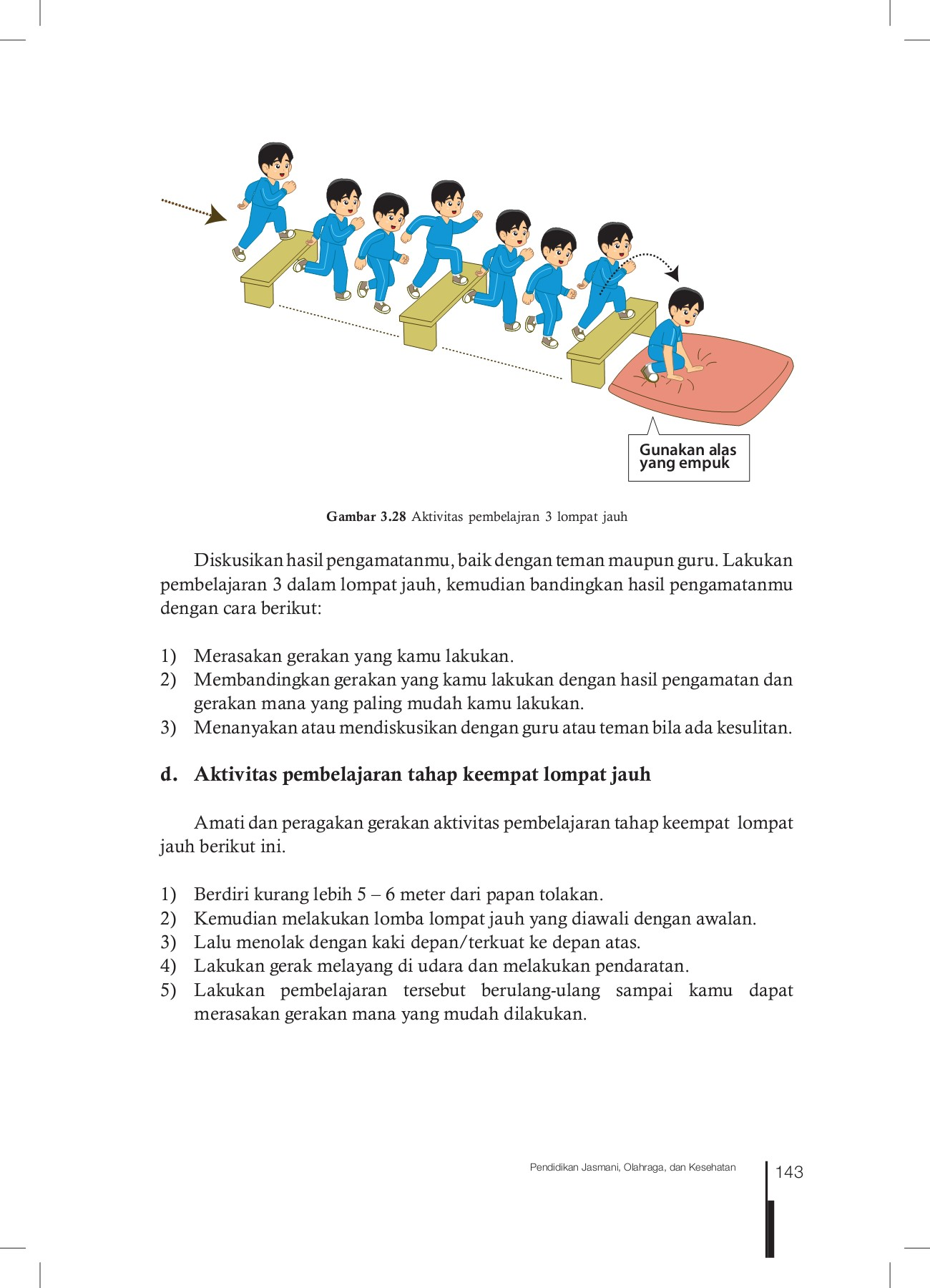 Langkah Langkah Melakukan Lompat Jauh : langkah, melakukan, lompat, Siswa, Kelas, Pages, Download, FlipHTML5