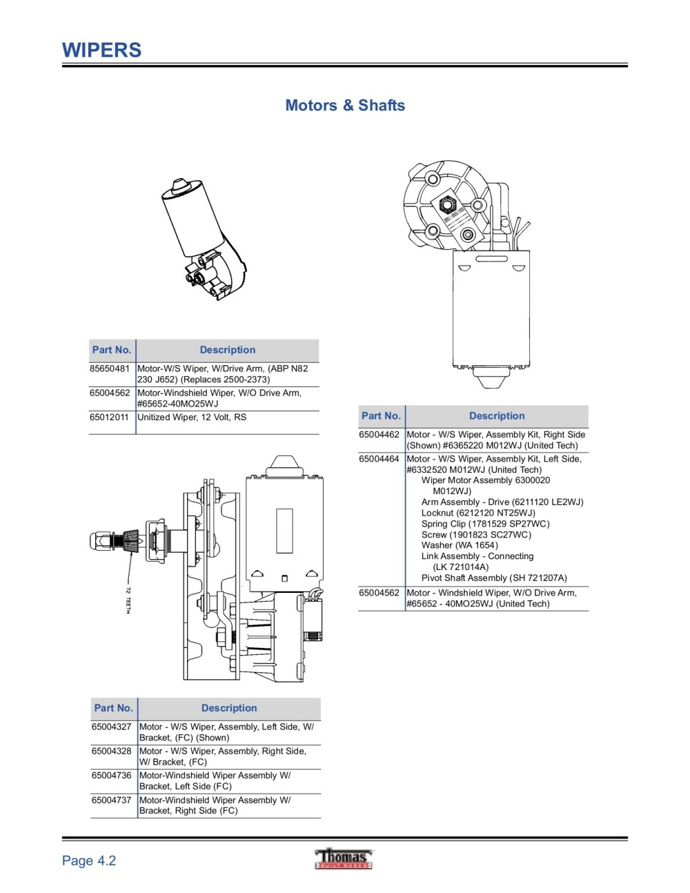 medium resolution of windshield wiper linkage bushing diagram